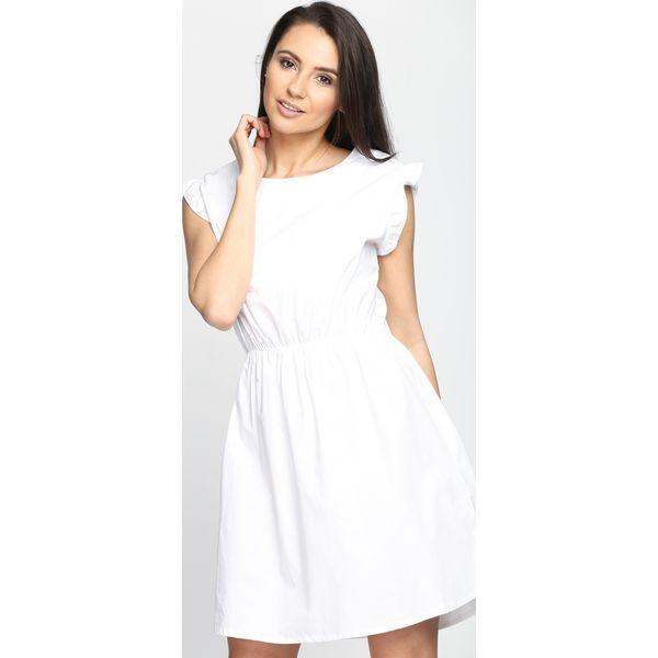 ab7df3ed23 Biała Sukienka Disturbia - Białe sukienki marki Born2be